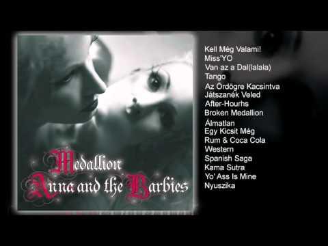 Anna and the Barbies - Medallion (teljes album)