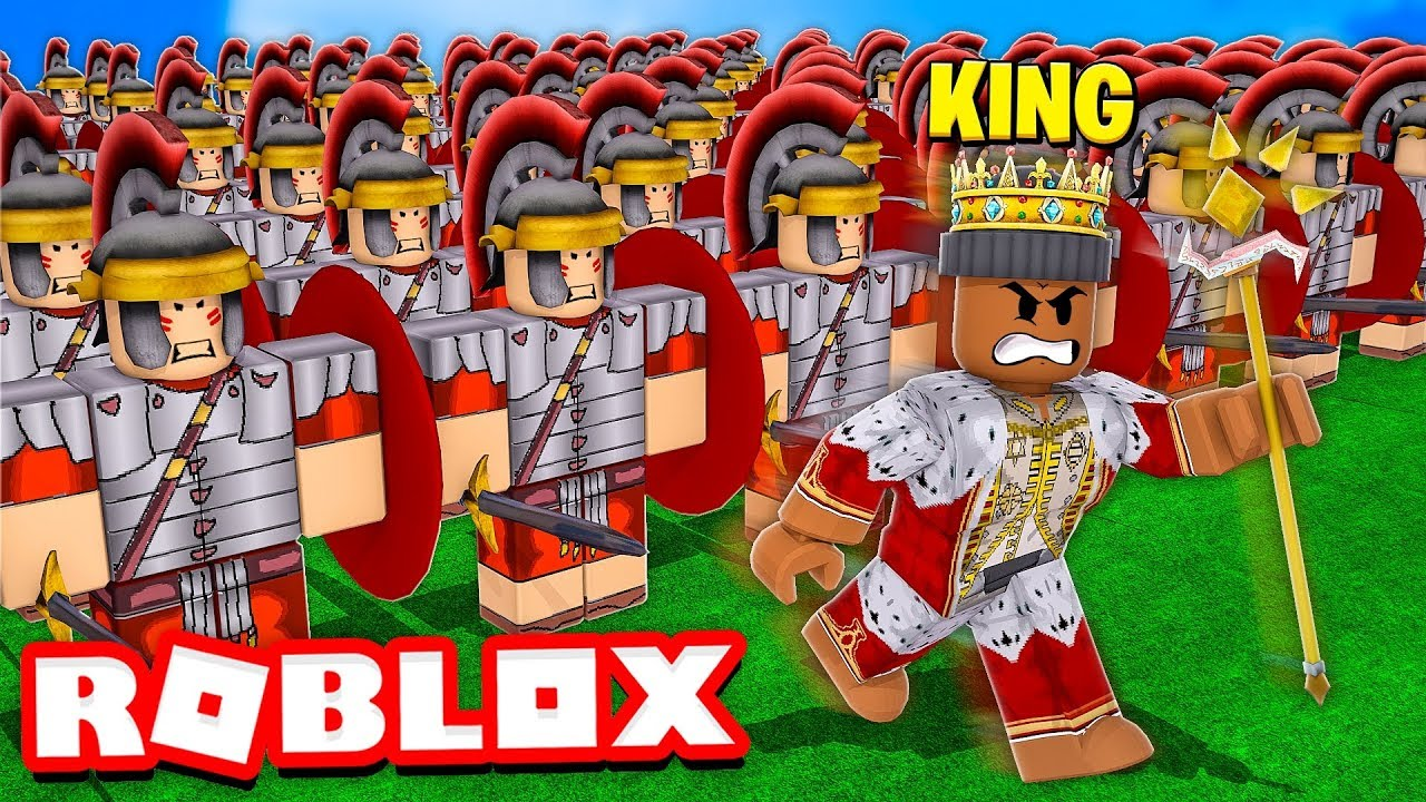 Youtube Roblox Videos Kev I Became King And Built The Biggest Army In The World Roblox Youtube