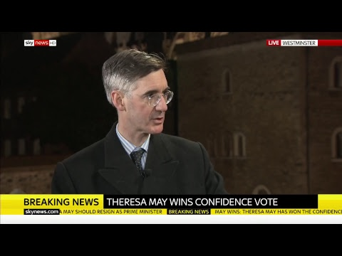 Theresa May wins no confidence vote