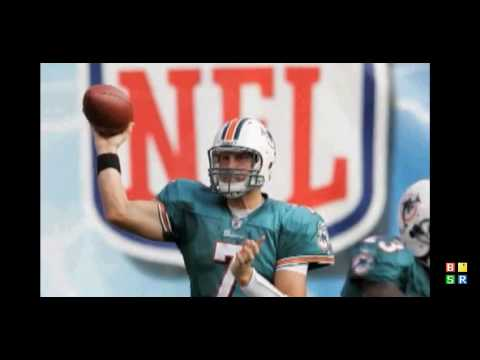 Dolphins Q-B Chad Pennington Dislocated Shoulder