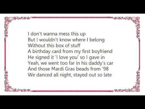 Chely Wright Back Of The Bottom Drawer Lyrics Youtube