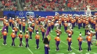 Fiesta Bowl 2017 - Clemson Tiger Band Halftime Show