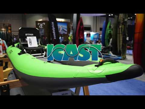 NRS Pike Inflatable Fishing Kayak Review At ICast 2018
