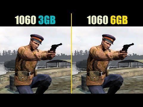 GTX 1060 3GB vs. GTX 1060 6GB (Test in 9 Games)