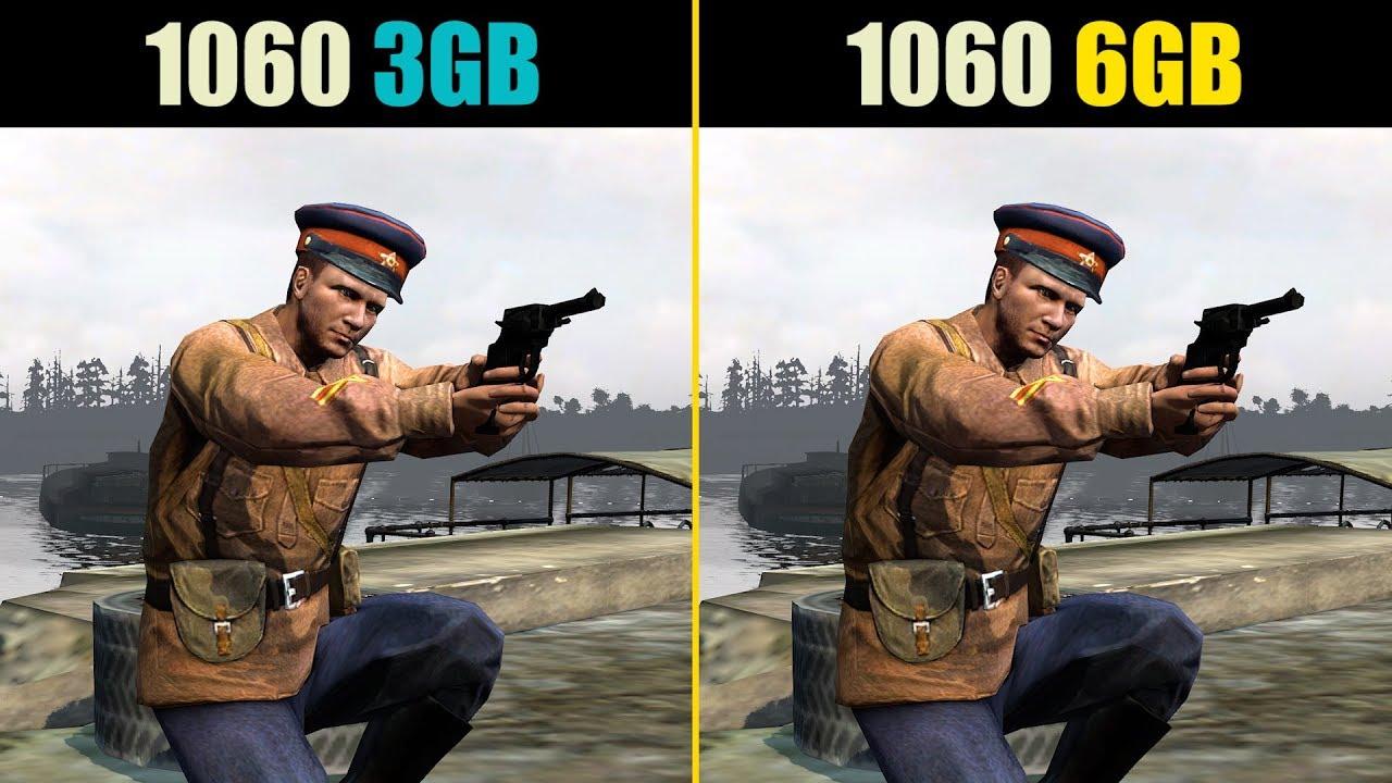 GTX 1060 3GB vs  GTX 1060 6GB (Test in 9 Games)