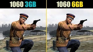 GTX 1060 3GB vs. GTX 1060 6GB (Test in 9 Games)