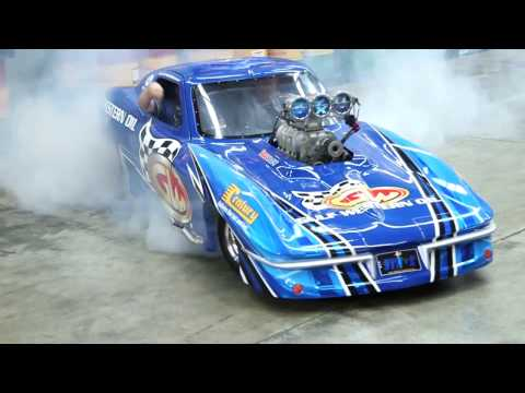 Ben Bray Burnout at Gulf Western Oil - Team Bray Racing Sponsorship Launch!