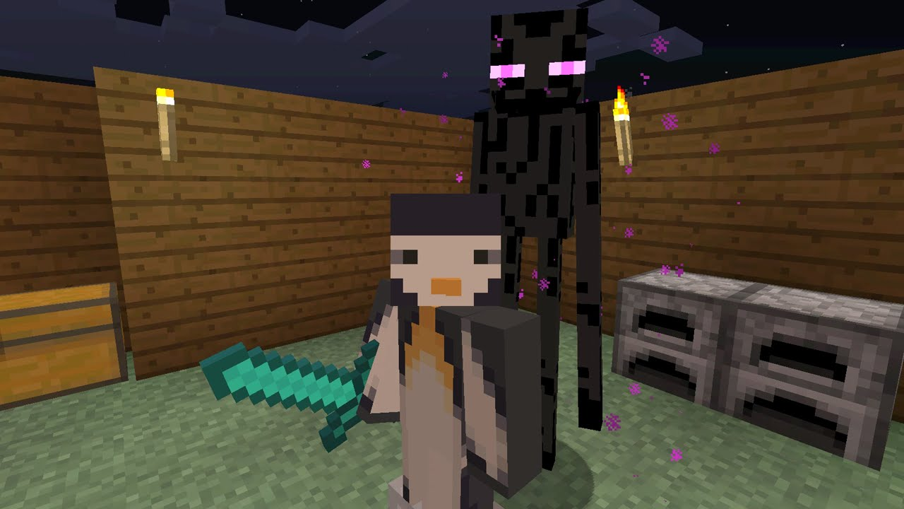 Minecraft Xbox Series To Slay The Ender Dragon Enderman Hunting Part 17
