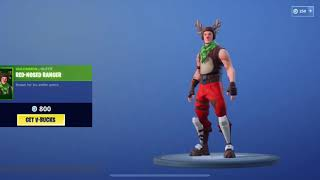 *NEW* Fortnite Shop!! Christmas Skins!!! And New Candy Cane Wrap!