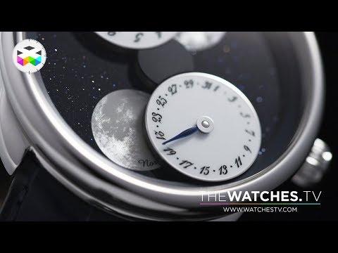 Complex & Creative Moonphase with L'Heure de la Lune by Hermès