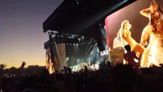 Major Lazer - Pon De Floor - Coachella 2016 weekend 1