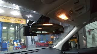 랜드로버 프리랜더 차량의 순정 룸미러 거울액정에 발생한…