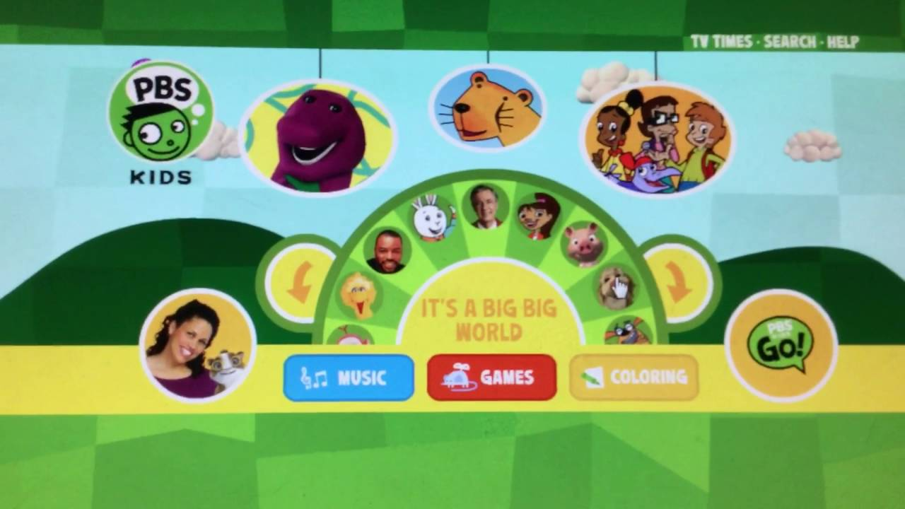 PBS Kids Website From January 26 2007 To September 6 2008