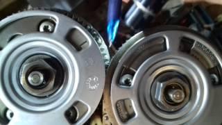 Установка ГРМ на мотор M272 Mercedes W211