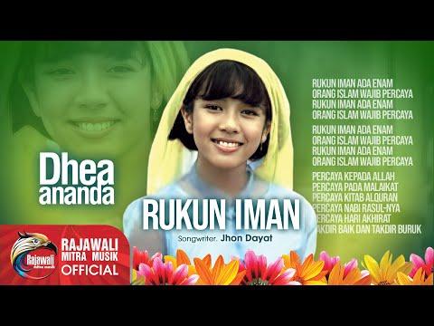 Dhea Ananda Rukun Iman Official Music Video Youtube