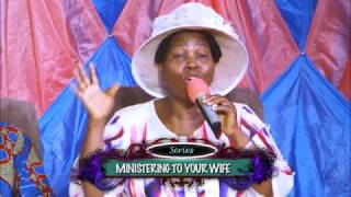 Ministering  to your wife 1. POPOOLA F.M.