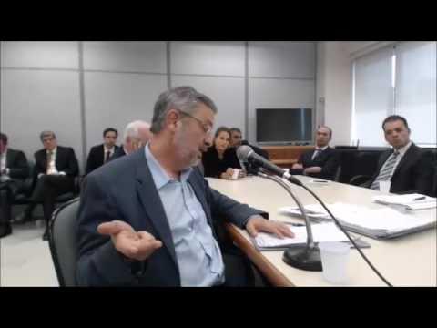 Depoimento de Antonio Palocci ao juiz Sérgio Moro, na Lava Jato - Parte 5