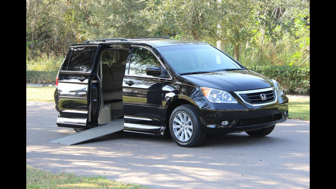 wheelchair van handicap van ramp van vmi vantage mobility 2008 honda odyssey touring 23k www. Black Bedroom Furniture Sets. Home Design Ideas