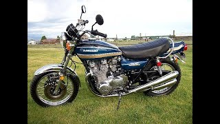 Kawasaki  Z1 - The Japanese Legend !