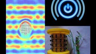 Wireless Power Transmission with EBG Metamaterial