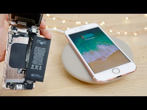 Get REAL Wireless Charging on Old iPhones! 7/6s/6 Mod