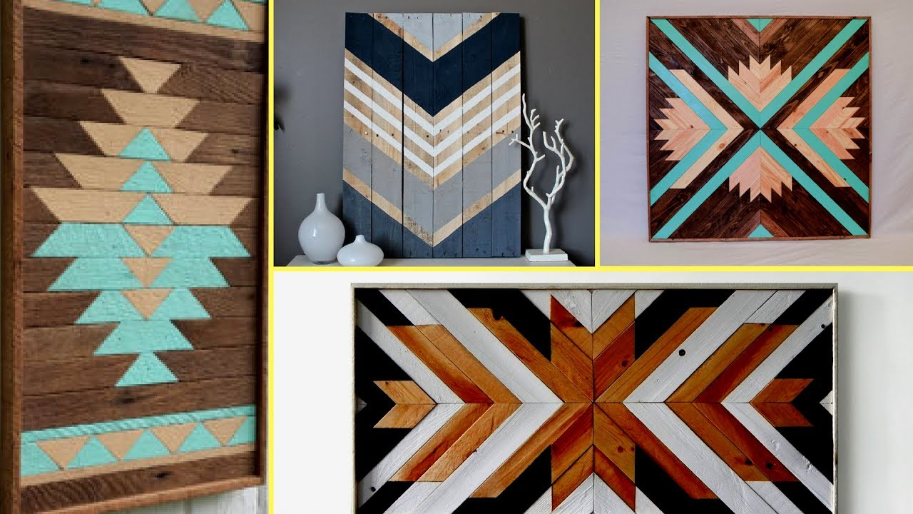 Wood Art Decor Alluring ✴Reclaimed Wood Art Decor Ideas Diy Wall Decoration Ideas 2017 2018