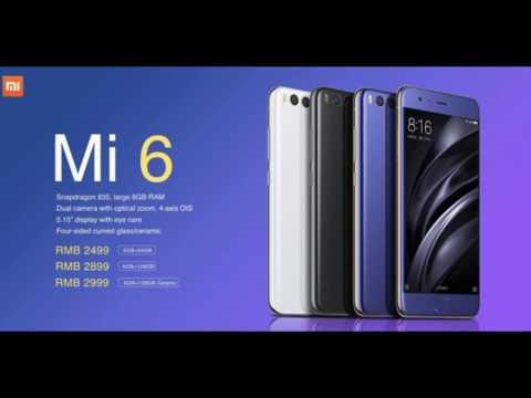Xiaomi Mi 6 можно купить