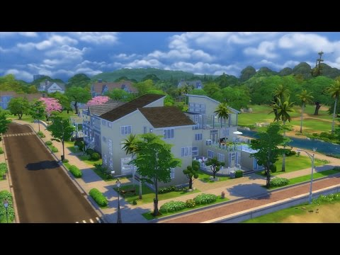 The Sims 4 House Green Eco house 2 review