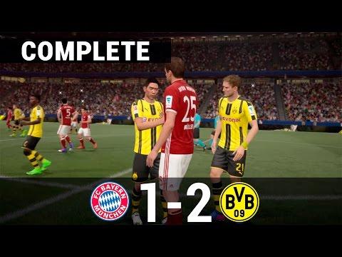 [PREDICT] Bayern vs Dortmund 1-2 · Extended Match · Bundesliga 08/04/2017