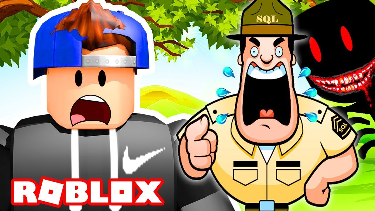 Boot Camp Roblox Game I Went To A Haunted Bootcamp In Roblox Roblox Bootcamp Camping Game Youtube
