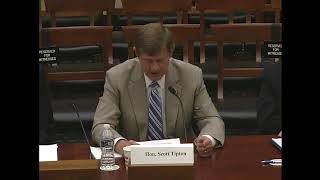 Rep  Tipton Testimony on  Members Day Hearing  House Committee on Science, Space, and Technology
