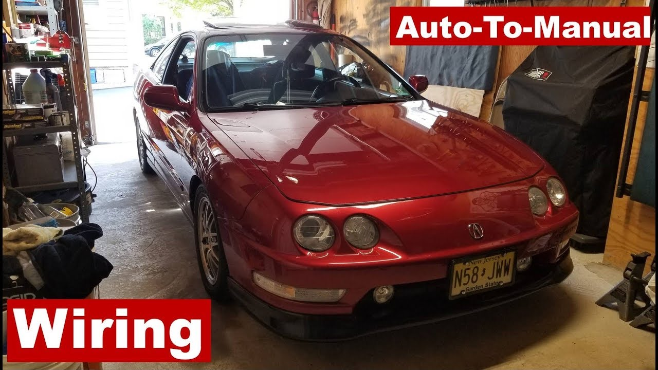 small resolution of 2001 acura integra auto to manual swap wiring