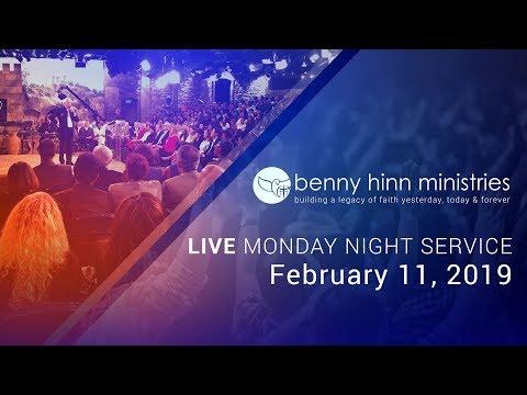 Benny Hinn LIVE Monday Night Service - February 11, 2019