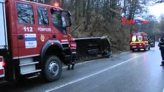 Accident microbuz km 4 DN 58 Resita - Caransebes 17 nov