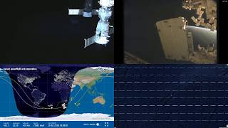 South Atlantic Sunrise - NASA/ESA ISS LIVE Space Station With Map - 209 - 2018-10-15
