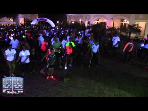 5K Warm Up At Earth Hour Bermuda Event, March 28 2015