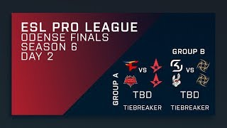 Full Broadcast: Groups Day 2 - ESL Pro League Season 6 Finals - Main Stream