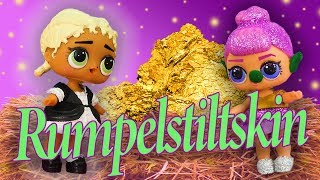 LOL Surprise Dolls Perform Rumpelstiltskin! Starring Sugar Queen, MC Swag, Beats, and Pink Baby!