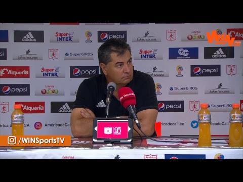 Habla 'Polilla' da Silva tras la derrota de América frente a Millonarios