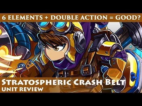 Stratospheric Crash Belt Unit Review (Brave Frontier Global)【ブレフロ】
