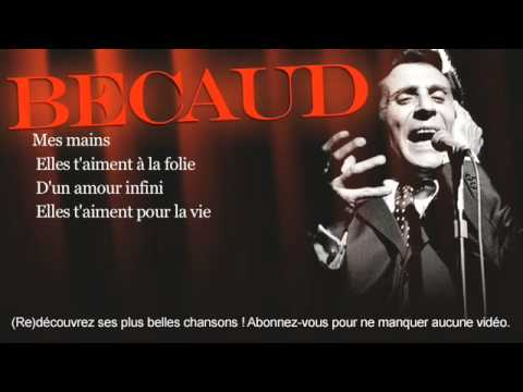 Gilbert Bécaud - Mes mains - Paroles (Lyrics)