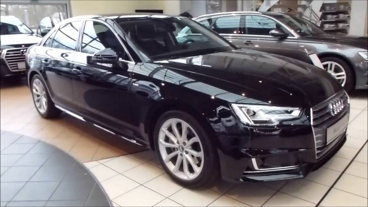 2016 audi a4 39 39 sport 39 39 39 39 s line 39 39 exterior interior 2 0 tdi 150 hp 215 km h 133 mph see. Black Bedroom Furniture Sets. Home Design Ideas