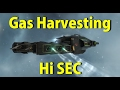 Gas Harvesting in Hi Sec - EVE Online