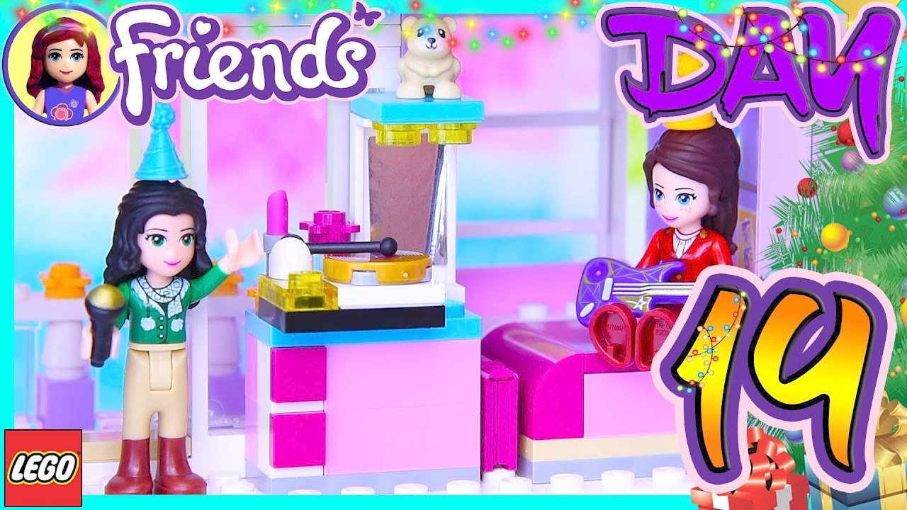 Lego Friends Christmas Sets.Lego Friends Advent Calendar Day 19 Christmas 2016 Build Silly Play Kids Toys