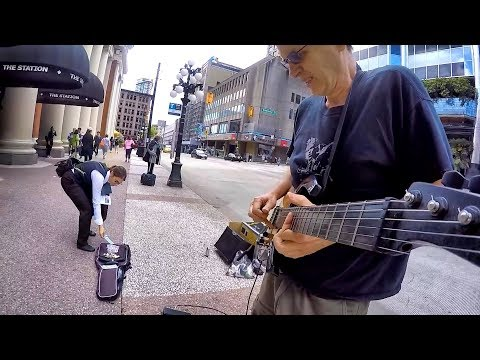 More than a feeling (Boston)- Busker shocked that someone donates actual paper money!
