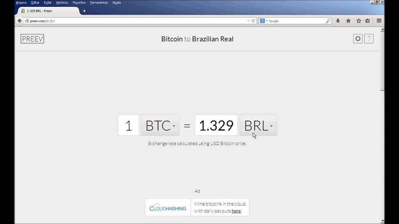 Como saber quanto vale meus bitcoins?(Conversor de Bitcoin).