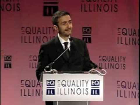 Equality Illinois 2014 Gala - CEO Bernard Cherkasov Gives Welcoming Address
