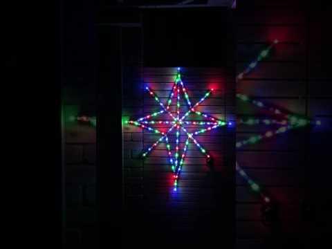Pixel Bethlehem star