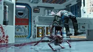 Alien Covenant 2017 : Alien Birth Scene 1080p