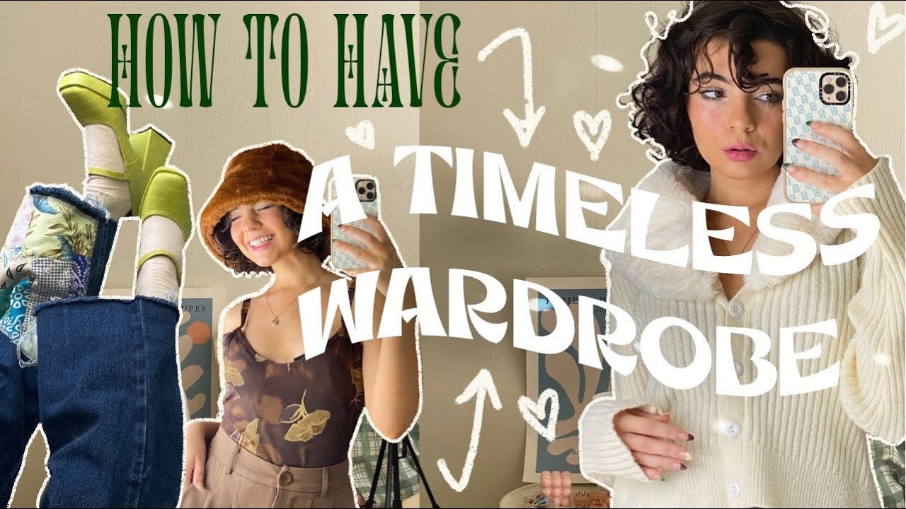 how to create a TIMELESS wardrobe + stop following trends   Capsule Wardrobe ft. Nasty Gal fall haul